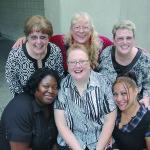 Tawanda Campbell, Debra Hancock, Diana Lopez, Margaret Mosher, Teresa Slack, Sandy Uffelman