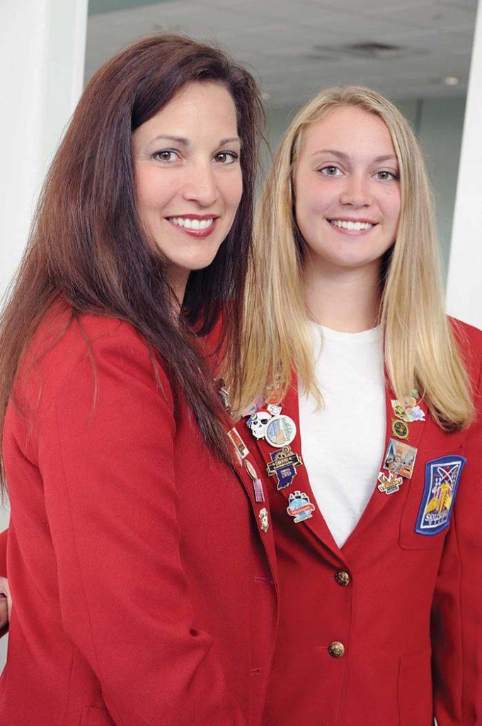 Malinda and Danielle Silver