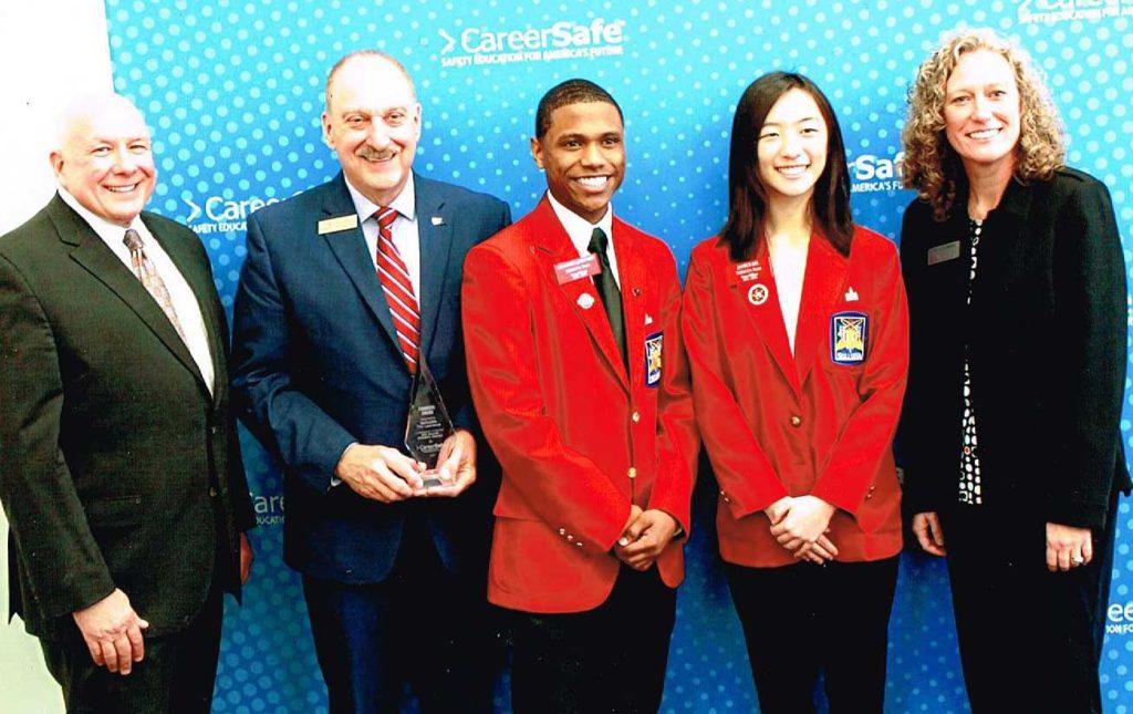 Tim Lawrence Receives CareerSafe Founders Award