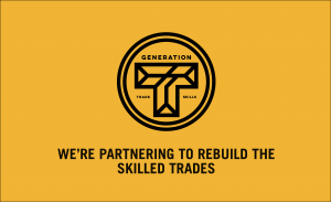 We're Partnering to Rebuild the Skilled Trades